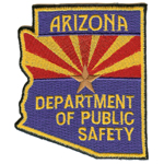 Arizona State Police Patch