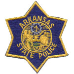 Arkansas State Police Patch