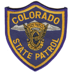 Colorado State Police Patch