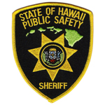Hawaii State Police Patch