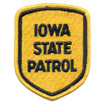 Iowa State Police Patch