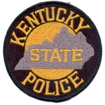 Kentucky State Police Patch
