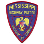 Mississippi State Police Patch