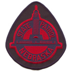 Nebraska  State Police Patch