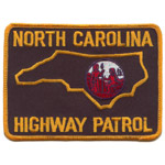 North Carolina State Police Patch
