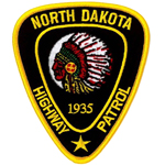 North Dakota State Police Patch