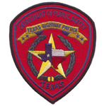 Texas State Police Patch