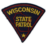 Wisconsin State Police Patch
