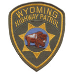 Wyoming State Police Patch