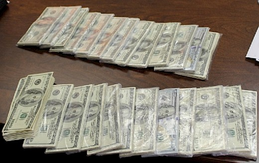 $127,300 and Cocaine seized in Wakulla County, Florida