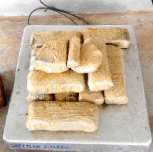 Meth and Cocaine Found at Border Crossings in Texas