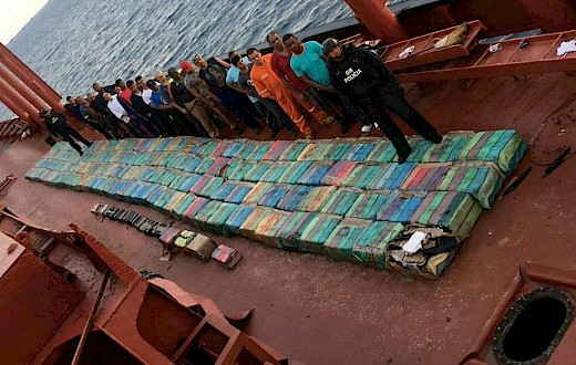 Spain and Ecuador seize more than 5 tons of cocaine off the coast of Ecuador